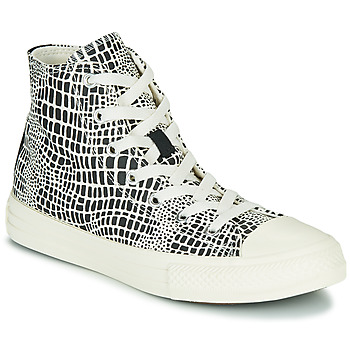 Shoes Girl High top trainers Converse CHUCK TAYLOR ALL STAR DIGITAL DAZE HI Black / White