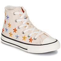 Shoes Girl High top trainers Converse CHUCK TAYLOR ALL STAR SPRING FLOWERS HI White