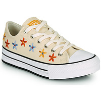 Shoes Girl Low top trainers Converse CHUCK TAYLOR ALL STAR EVA LIFT SPRING FLOWERS OX White