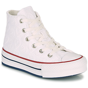 Shoes Girl High top trainers Converse CHUCK TAYLOR ALL STAR LIFT LOVE CEREMONY HI White