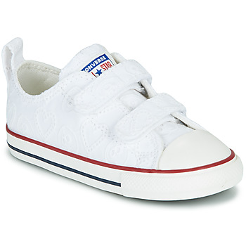 Shoes Girl Low top trainers Converse CHUCK TAYLOR ALL STAR 2V LOVE CEREMONY OX White