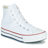 Shoes Girl High top trainers Converse CHUCK TAYLOR ALL STAR EVA LIFT CANVAS COLOR HI White
