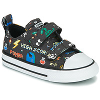 Shoes Boy Low top trainers Converse CHUCK TAYLOR ALL STAR 2V BOYS GAMER OX Black / Multicoloured
