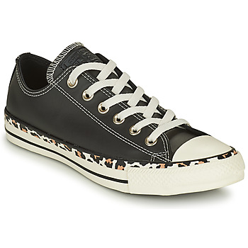 Shoes Women Low top trainers Converse CHUCK TAYLOR ALL STAR ARCHIVE DETAILS OX Black / Leopard