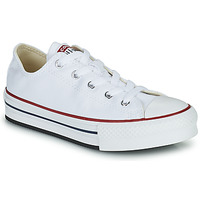 Shoes Girl Low top trainers Converse CHUCK TAYLOR ALL STAR EVA PLATFORM FOUNDATION OX White