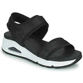 Shoes Women Sandals Skechers UNO Black