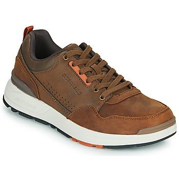 Shoes Men Low top trainers Skechers FAIRLINE Brown