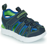 Shoes Boy Sports sandals Skechers C-FLEX SANDAL 2.0 Marine / Green