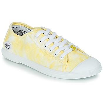 Shoes Women Low top trainers Le Temps des Cerises BASIC 02 Yellow