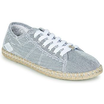 Shoes Women Low top trainers Le Temps des Cerises BEACH Blue / White