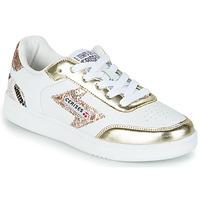Shoes Women Low top trainers Le Temps des Cerises FLASH White / Gold
