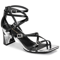 Shoes Women Sandals United nude MOLTEN STRAPPY MID Black