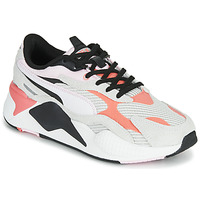 Shoes Women Low top trainers Puma RSX3 TWILL White / Black / Pink