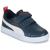 Shoes Children Low top trainers Puma COURTFLEX PS Black
