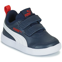 Shoes Children Low top trainers Puma COURTFLEX INF Blue