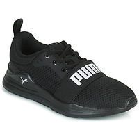 Shoes Boy Low top trainers Puma WIRED PS Black