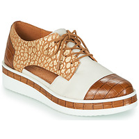 Shoes Women Derby shoes Mam'Zelle KIGALI White / Brown