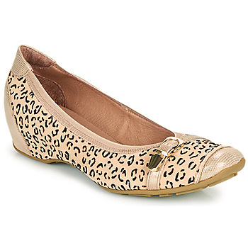 Shoes Women Ballerinas Mam'Zelle FABRI Beige