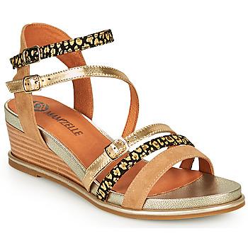 Shoes Women Sandals Mam'Zelle NAGA Beige / Orange