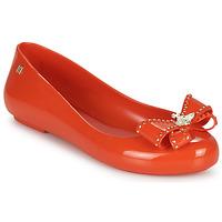 Shoes Women Ballerinas Melissa VIVIENNE WESTWOOD ANGLOMANIA - SWEET LOVE II Red
