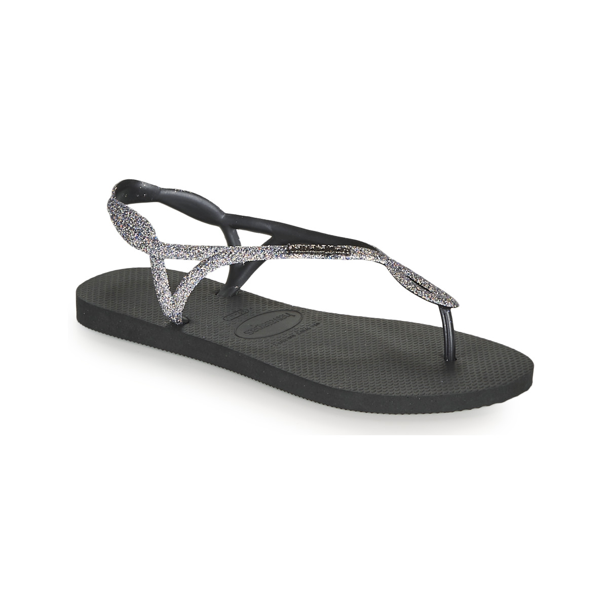 Havaianas Luna Black Womens Sandals