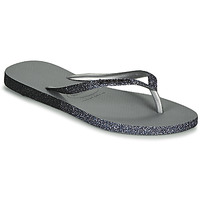 Shoes Women Flip flops Havaianas SLIM SPARKLE II Grey