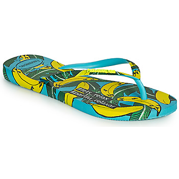 Shoes Women Flip flops Havaianas SLIM SUMMER Blue
