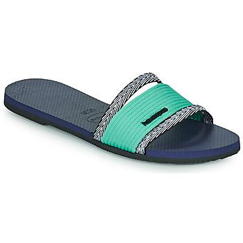 Shoes Women Mules Havaianas YOU TRANCOSO Blue