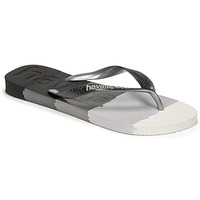 Shoes Flip flops Havaianas TOP LOGOMANIA MULTICOLOR Black