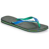 Shoes Flip flops Havaianas BRASIL MIX Black / Blue