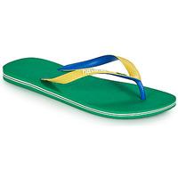 Shoes Flip flops Havaianas BRASIL MIX Green