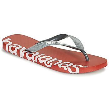 Shoes Flip flops Havaianas TOP LOGOMANIA HIGHTECH Red