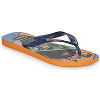 Shoes Men Flip flops Havaianas TOP NARUTO Orange