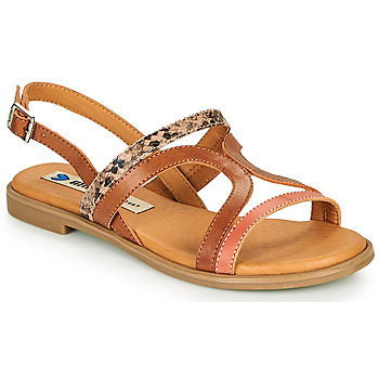 Shoes Women Sandals MTNG 50750 Brown