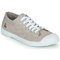 Shoes Women Low top trainers Le Temps des Cerises BASIC LACE Pearl