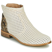 Shoes Women Mid boots Muratti REBAIS Ivory