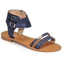 Shoes Women Sandals Les Petites Bombes BELIZE Blue