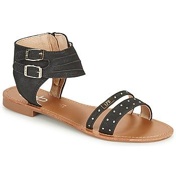 Shoes Women Sandals Les Petites Bombes BELIZE Black