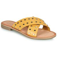 Shoes Women Mules Les Petites Bombes BELMA Yellow