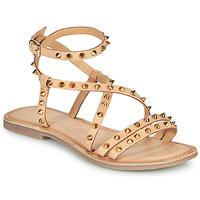 Shoes Women Sandals Les Petites Bombes BEATA Beige