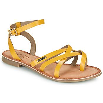 Shoes Women Sandals Les Petites Bombes BERYLE Yellow