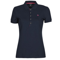 material Women short-sleeved polo shirts Lauren Ralph Lauren KIEWICK Blue