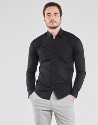 material Men long-sleeved shirts BOTD OMAN Black