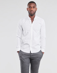 material Men long-sleeved shirts BOTD OMAN White