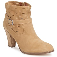 Shoes Women Ankle boots One Step VIRNA Fauve