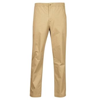 material Men 5-pocket trousers Polo Ralph Lauren PANTALON CHINO PREPSTER AJUSTABLE ELASTIQUE AVEC CORDON INTERIEU Beige