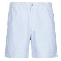 material Men Shorts / Bermudas Polo Ralph Lauren SHORT PREPSTER AJUSTABLE ELASTIQUE AVEC CORDON INTERIEUR LOGO PO Blue
