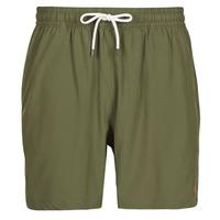 material Men Trunks / Swim shorts Polo Ralph Lauren MAILLOT SHORT DE BAIN EN NYLON RECYCLE, CORDON DE SERRAGE ET POC Kaki