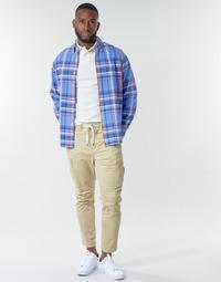 material Men Cargo trousers Polo Ralph Lauren SHORT PREPSTER AJUSTABLE ELASTIQUE AVEC CORDON INTERIEUR LOGO PO Beige