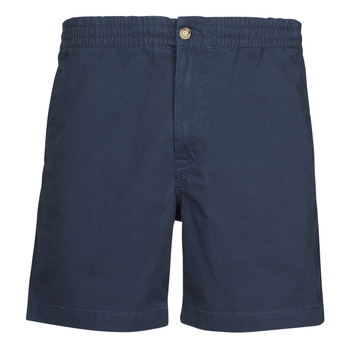 material Men Shorts / Bermudas Polo Ralph Lauren SHORT PREPSTER AJUSTABLE ELASTIQUE AVEC CORDON INTERIEUR LOGO PO Marine